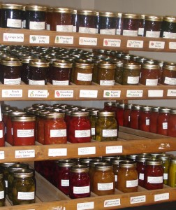 Homemade Jellies, Preserves, Pickles, & Relishes