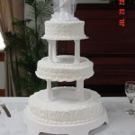Wedding cake-3 tier