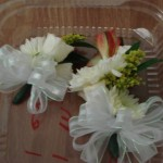 Wedding party corsages